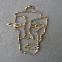 hanger  zilver met goud afbeeldingen arnhem eenmalig ontwerp