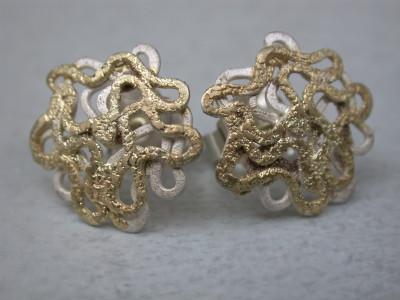oorbellen zilver met goud afbeeldingen arnhem